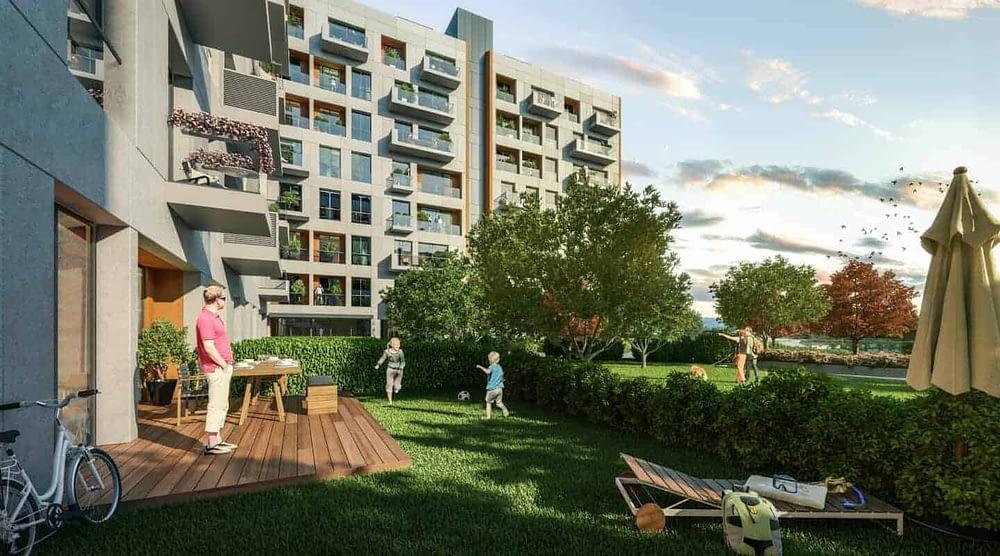 مشروع مميز يجمع بين السكن والعمل في اسطنبول RS-151
