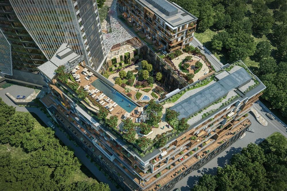 مشروع مجمع سكني راقي وسط اسطنبول (1)