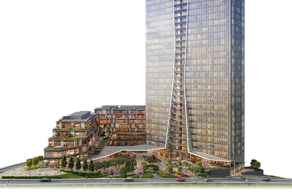 مشروع مجمع سكني راقي وسط اسطنبول (6)