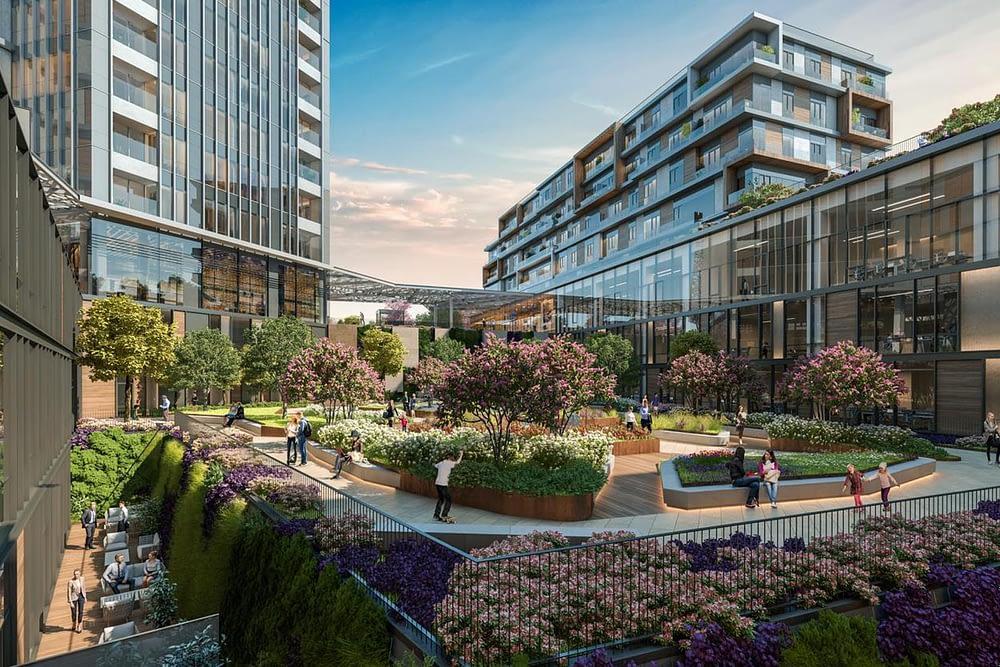 مشروع مجمع سكني راقي وسط اسطنبول (8)