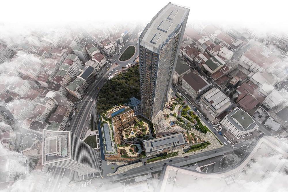 مشروع مجمع سكني راقي وسط اسطنبول (9)