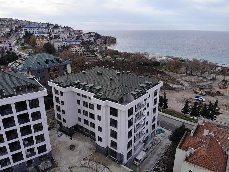 مشروع سكني في اسطنبول للبيع بإطلالات مباشرة على بحر مرمرة