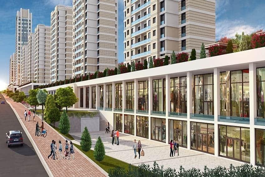 مشروع مميز في اسطنبول يجمع بين السكن والعمل RS-151