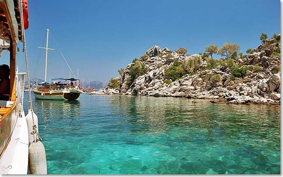 مرمريس من أشهر المواقع السياحية في تركيا